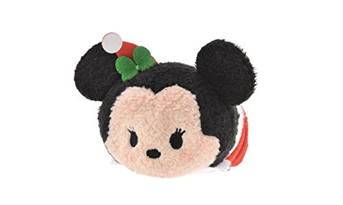 Amazon.com: Tsum Tsum Minnie Mouse Christmas Special Stuffed ...