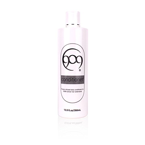 909 Moisturizing Daily Conditioner for 100% Remy Human Hair Extensions and Wigs (12 oz)
