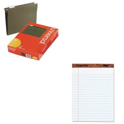 (KITTOP75330UNV14115 - Value Kit - Tops The Legal Pad Ruled Perforated Pads (TOP75330) and Universal Hanging File Folders (UNV14115))