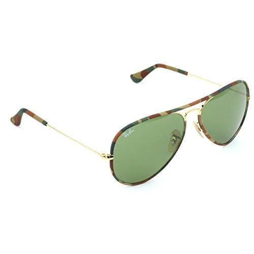 9710c4daa9 85%OFF Ray-Ban RB3025JM 168 4E Sunglasses Multi Camouflage Frame  Green