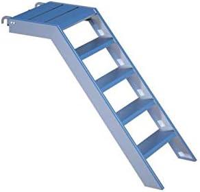 Aluminio Podio Escaleras para 1 m de altura, 58 cm de ancho, Jardín, estanque Piscina, Edificios de flotación Acceso, con einhängeklauen: Amazon.es: Bricolaje y herramientas