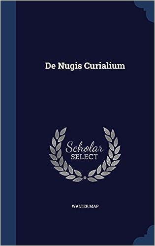 Book De Nugis Curialium