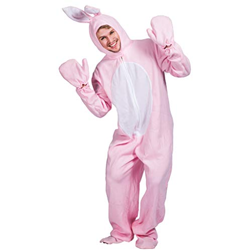 FantastCostumes Rabbit Costume Unisex Adult Cute Animals Fancy Dress -