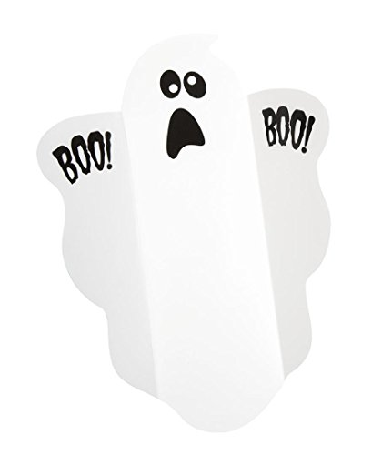 Ghost Halloween Candy Bar Wrappers, 8ct
