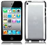 SLIMLINE CRYSTAL BACK CASE CLEAR FOR IPOD TOUCH 4 WITH 1 SCREEN PROTECTOR