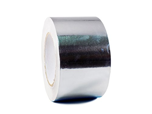 - T.R.U. AF-20R Heat Shield Resistant Aluminum Foil Tape: 3 in. wide x 50 yds. (2Mil)