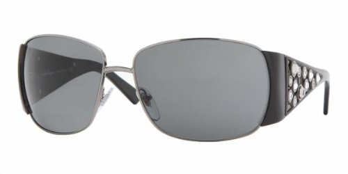Salvatore Ferragamo 1175b Gunmetal/black Gray Sunglasses -