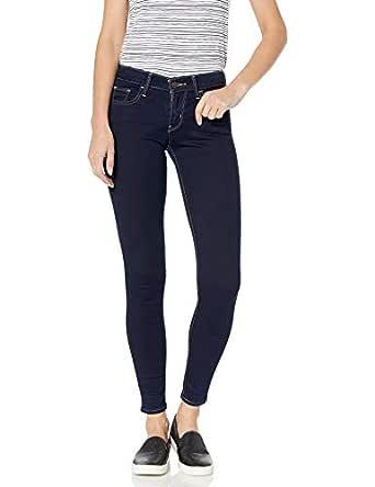 Levi's Womens 710 Super Skinny Jeans Jeans - Dusk Rinse - 25 Long