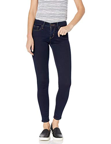 Levi's Women's 710 Super Skinny Jeans : Color - Dusk Rinse, Size - 34 Regular (B00X4BC14U)