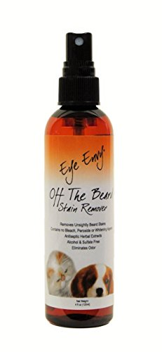 Eye Envy All Natural Off the Beard Stain Remover for Dogs & Cats - 4oz (120ml)