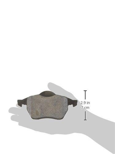 Centric Parts 106.08400 106 Series Posi Quiet Semi Metallic Brake Pad