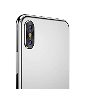 Sonmer Metal Rear Camera Lens Case Cover +Film For iPhone XS/XS Max