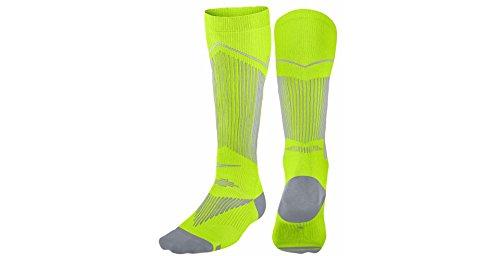 Nike Elite Graduated Compression Over The Calf Running Socks (10-11.5 (Hyp Sportswear)