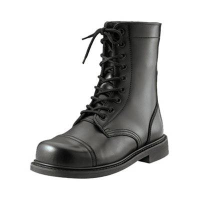 Rothco G.I. Style Combat Boots, Black, Size 8.5