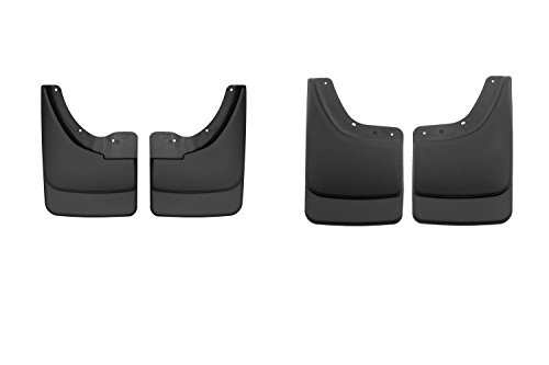 HUSKYLINERS 56071/57061 Front and Rear Mud Guards for 02-09 Dodge Ram by Husky Liners