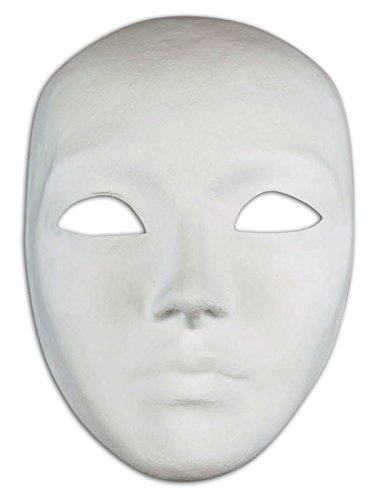 Magic of Venezia DIY Venetian Mask (Blank) (Volto) (Piece Venezia 5)