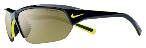 Nike Eyewear Unisex-Adult Skylon Ace EV0525-003 Rectangular Sunglasses, Black, 69 mm