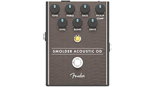 Fender Smolder Acoustic Overdrive Electric Guitar Pedal