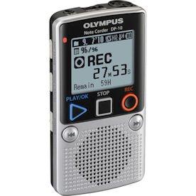 - Olympus DP-10 Digital Voice Recorder 142640 (Silver)