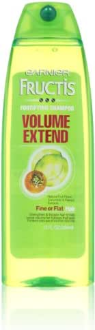 Shampoo & Conditioner: Garnier Fructis Volume Extend