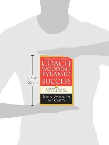 Coach Woodens Pyramid Of Success Amazonde John Wooden