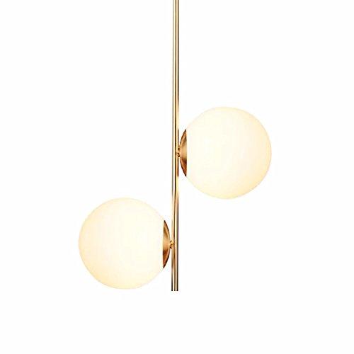 HQLCX Chandelier Nordic Modern Minimalist Bedroom Glass Chandelier by HQLCX-Chandeliers