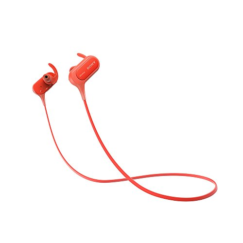 Sony Extra Bass MDR XB50BS in Ear Active Sports Wireless Headphones  Red