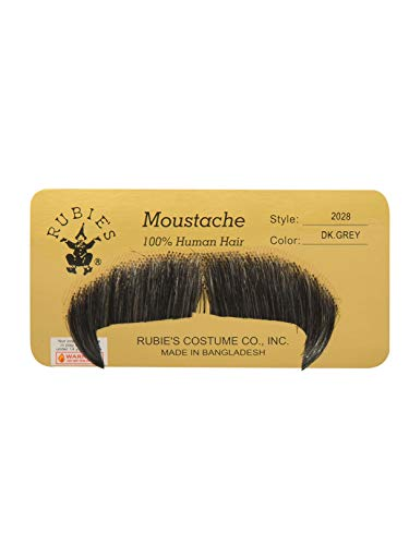 Rubie's Winchester Fake Moustache, Black, One Size -