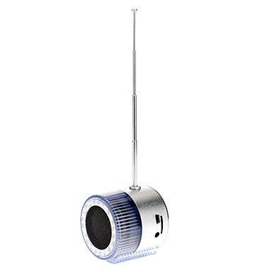 Portable Speaker luminoso Cilindro para el teléfono móvil, iPhone / iPad, ordenador / portátil, PSP / GPS, CD / DVD: Amazon.es: Electrónica