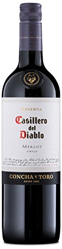 Casillero del Diablo Reserva Merlot Wine, 75 cl (Case of 6)