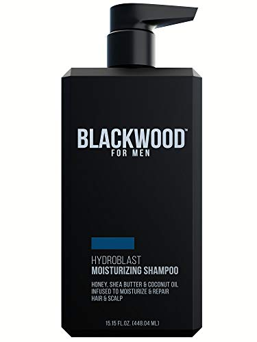 Blackwood For Men Hydro Blast Moisturizing Shampoo, 15.15 Fluid Ounce