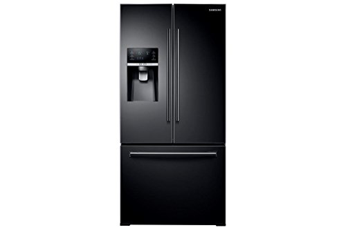 """Samsung RF26J7500BC 33"""" French Door Refrigerator with 25.5 cu. ft. Total Capacity, in Black"""