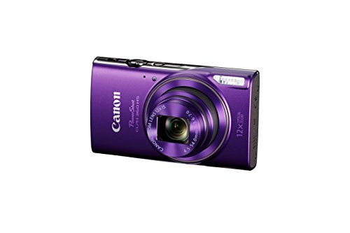 Canon PowerShot ELPH 360 Digital Camera w/ 12x Optical Zoom and Image Stabilization - Wi-Fi & NFC Enabled (Purple) by Canon (Image #1)