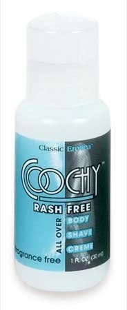 Coochy-Body-Fragrance-Free-1-Ounce-Shave-Cream-Rash-Free