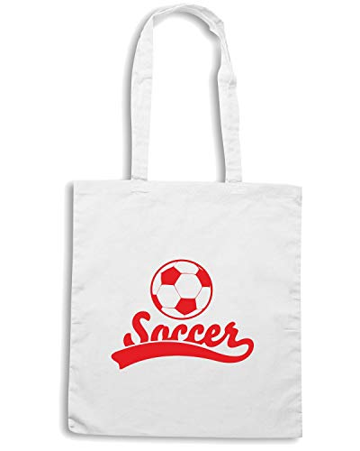 SOCCER Bianca Shopper Speed Borsa Shirt WC1481 wqFAWxnptx