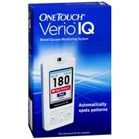 OneTouch Verio IQ Blood Glucose Monitoring System, 1 ea - 2pc