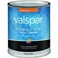 Valspar 27-2400 QT 2400 Interior Latex Paint, 1