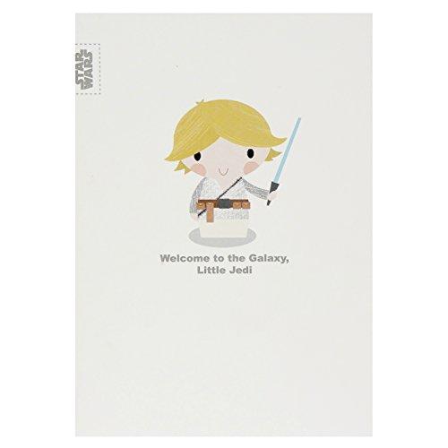 Hallmark Star Wars New Baby Card 'Little Jedi' - Medium