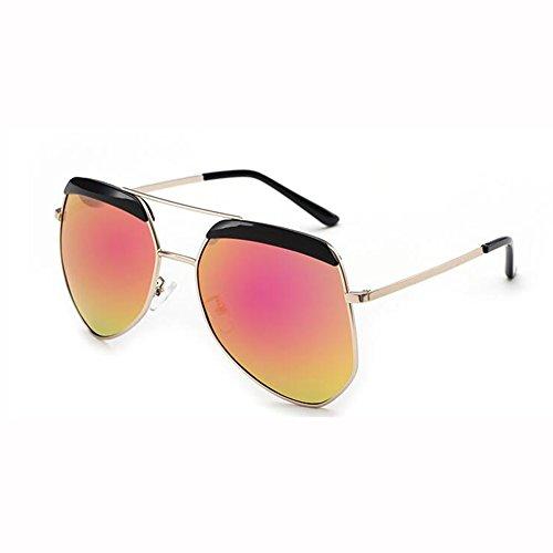 Gafas T5 Sol Hipster T3 xin WX Montura Gafas Masculino Luz Grande Hormiga Gafas Hembra Color Polarizada Irregulares De De wfRIqCU