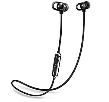 Auriculares Bluetooth magnéticos Bonpra. Impermeables, reducción del ruido. iPhone, Huawei, Samsung. Auriculares para teléfono móvil con micrófono: ...