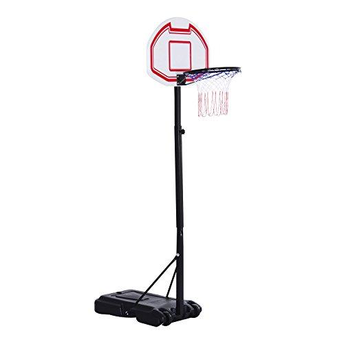 Portable Adjustable Basketball Hoop Free Standing 29