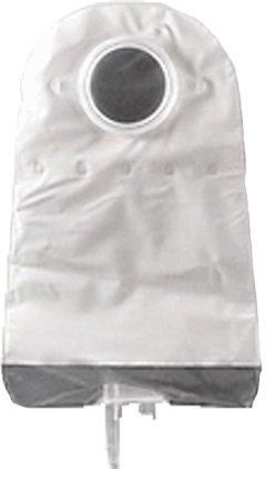 SUR-FITNaturaUrostomy Pouch, Fold Over, 10'',Flange1¾'',1Side Comf,Trnsprnt
