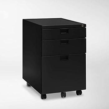Amazon Com Lorell Seat Cushion Top Mobile File Pedestal