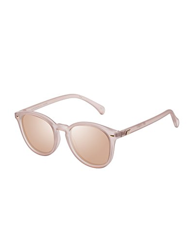 Le Specs Women's Bandwagon Sunglasses, Matte Stone/Copper Revo, One - Specs Sunglasses Le Mirrored