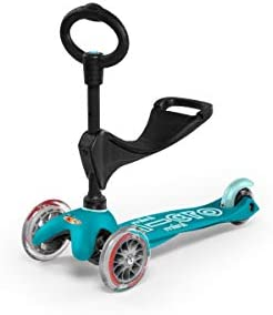 Micro Kickboard – Mini 3in1 Deluxe 3-Stage Ride-on Micro Scooter Toddler Toys for Ages 12 Months to 5 Years