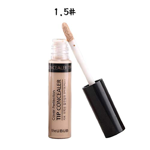 SAKAMU Concealer Foundation Primer Powder Spray Cream Makeup Palette,Silky Smooth Concealer Is A Permanent Cover For Black Eye Spots