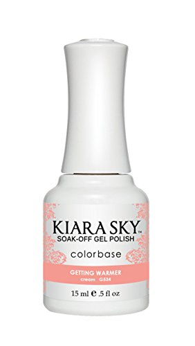 Kiara Sky Gel Polish Pure White G401 (G534-Getting Warmer) ()