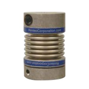 RIMTEC DKN Miniature Metal Bellow Coupling with Collet Clamp, Steel
