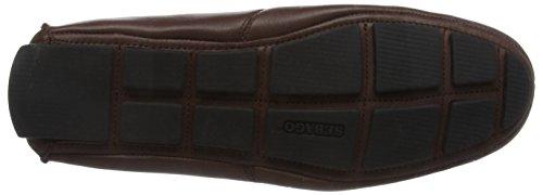 Sebago Herren Kedge Tie Mokassin Brown (Dk Brown Leather)