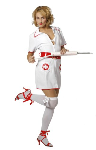 Wilbers Sexy Nurse Costume (UK Size 10/ 12)